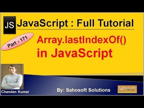 Array lastIndexOf() in JavaScript | JavaScript Full Tutorial in Hindi thumbnail