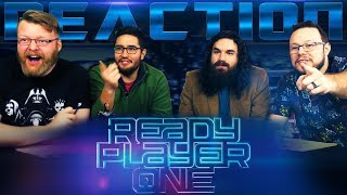Ready Player One- Official Trailer 1 REACTION!!