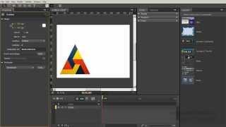 Урок 3. Рабочее пространство Edge Animate