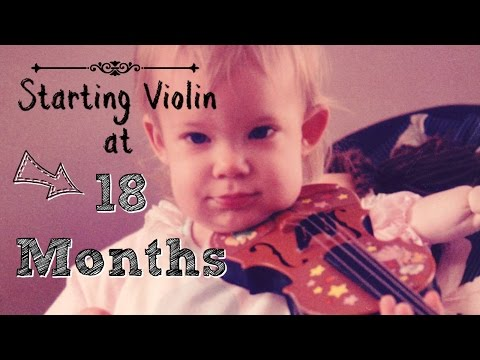 Starting Violin at 18 months - My Journey as a Violinist
