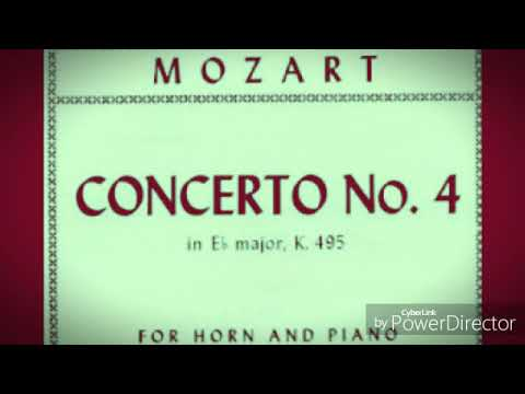 W.A Mozart - Horn Concerto 4 in Eb Major