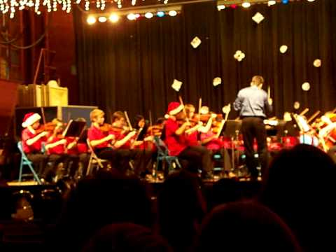 Lindale Middle School Orchestra 2011 Winter Concert