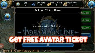 Toram Online - [TRICK] Get FREE AVATAR TICKET Easily #HallowenEvent #Guide