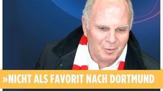 Nach Krawall-PK - Hoeneß entschuldigt sich ein bisschen wegen Bernat-Aussagen