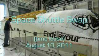 Space Shuttle Swap (time lapse)