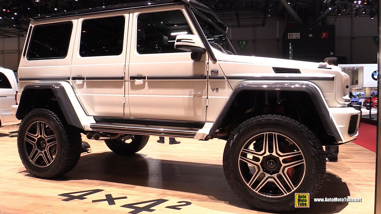 2016 mercedes g class g500 4x4 squared exterior and for Mercedes benz 4x4 g class