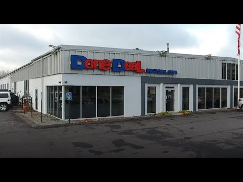 Done deal motors car dealership 4k drone commercial youtube for Done deal motors canton ma