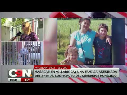 Capturan al homicida de una familia completa