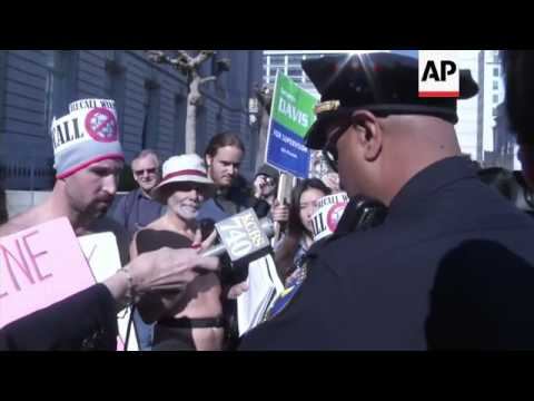 Part IV of San Francisco Nudity Ban Protest on December 4