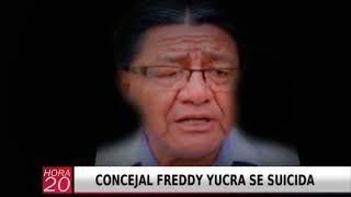 CONCEJAL FREDDY YUCRA SE SUICIDA