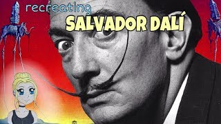 Recreating a SALVADOR DALI Painting!
