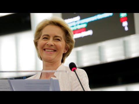 La lucha contra el cambio climático, centro de las promesas de Von der Leyen