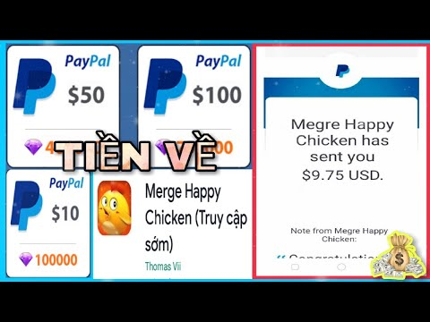 App Mới Chơi Game Kiếm 10$ Paypal Đã Rút   Kiếm Tiền Online