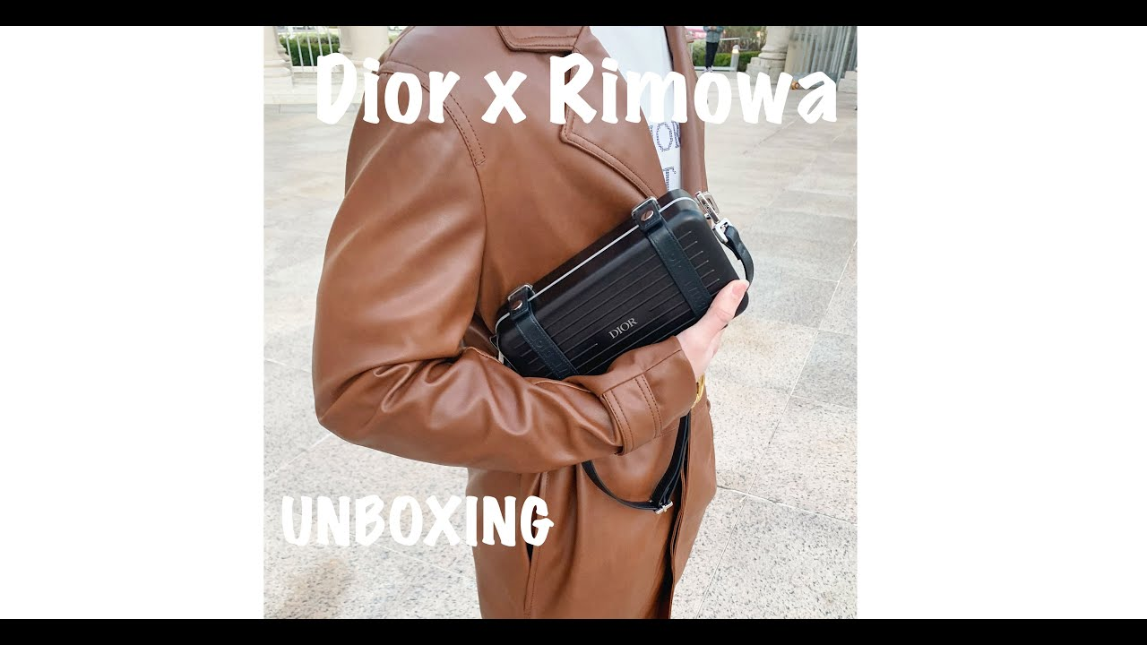 Unboxing Cool and Hot Bag In 2020 !!!! DIOR RIMOWA