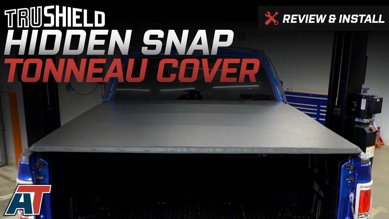 2004 2014 F150 Trushield Hidden Snap Tonneau Cover Review Install Youtube