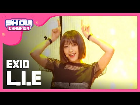 (ShowChampion EP.191) EXID - L.I.E