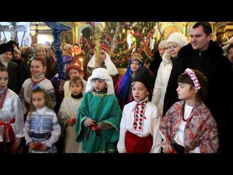 Рождество Христово в Всехсвятском храме