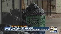Bed bug infestation at Valley medical facility
