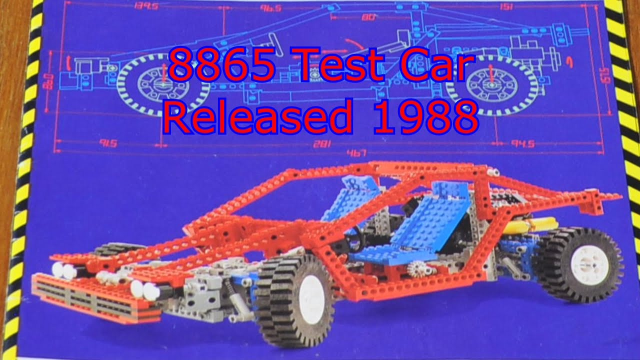 classic lego technic 8865 test car youtube. Black Bedroom Furniture Sets. Home Design Ideas