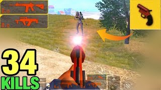 NO AMMO!! CAN I WIN LAST GUY WITH A FLARE GUN? | SOLO VS SQUAD PUBG MOBILE