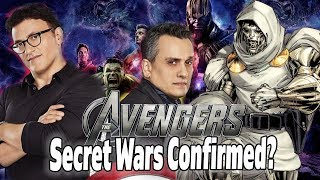Avengers 4 News! Russo Brothers CONFIRM Secret Wars & Debunk Loki Lives
