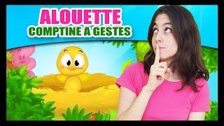 Repeat youtube video Alouette, gentille alouette - Comptines à gestes pour les petits - Titounis