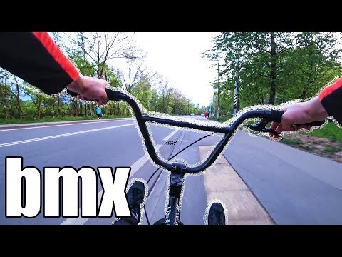 Покатушки на BMX!!! Трюки на Bmx!!! Все люди в шоке!!! Первая обкатка!!!