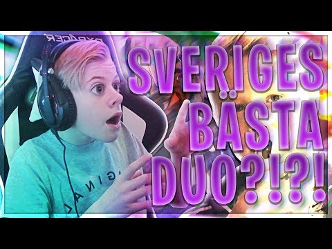 SVERIGES BÄSTA FORTNITE BATTLE ROYALE DUO TEAM!!?? - 16 Kill Game Med  WILLE!!
