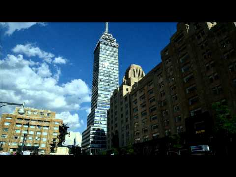 A Time lapse of 2 sights of Mexico City