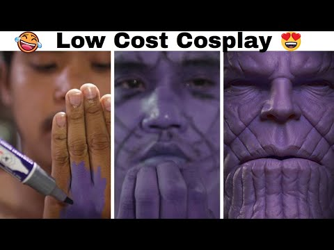 Cheap Cosplay Guy Strikes Again With Low Cost Costumes And Results Are Hilariously On Point