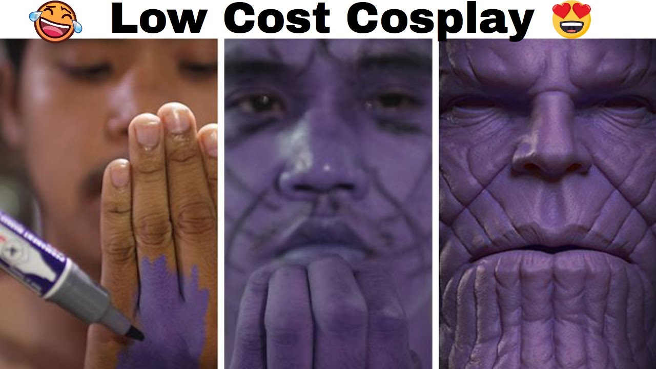 Cheap Cosplay Guy Strikes Again With Low Cost Costumes And Results