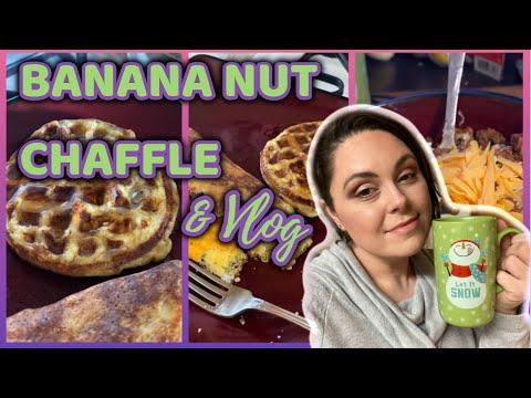 banana-nut-chaffles-&-vlog