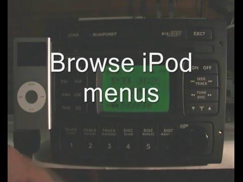 Holden VZ iPod interface