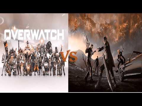 Final Fantasy XV vs Overwatch