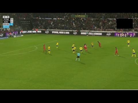 FC Midtjylland - Arka Gdynia 2-1 CAŁY MECZ