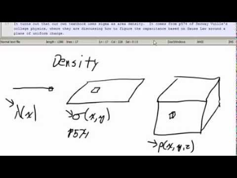 2015 01 30 Ch17 Charge Density and the meaning of electrical current