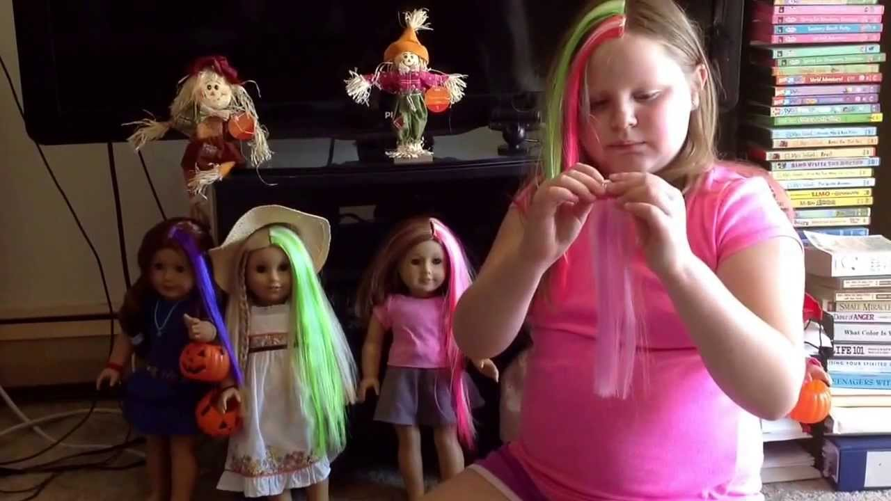 Comparing different types of colored hair extensions with some comparing different types of colored hair extensions with some halloween decorations youtube pmusecretfo Gallery
