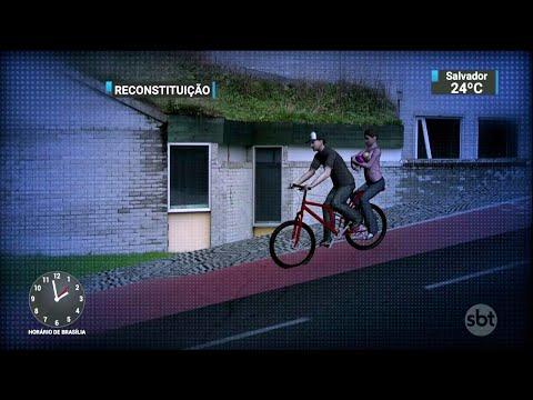Família que passeava de bicicleta morre em acidente com caminhão | SBT Notícias (01/05/18)