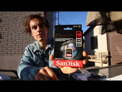 SanDisk Extreme PRO 128GB (170 MB/s) Best Price and Amazon Delivery Unboxing and Review