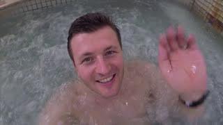 紅葉の松見の滝+温泉=幸せ!