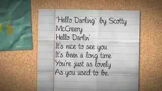 Scotty McCreery - Hello Darling Lyrics