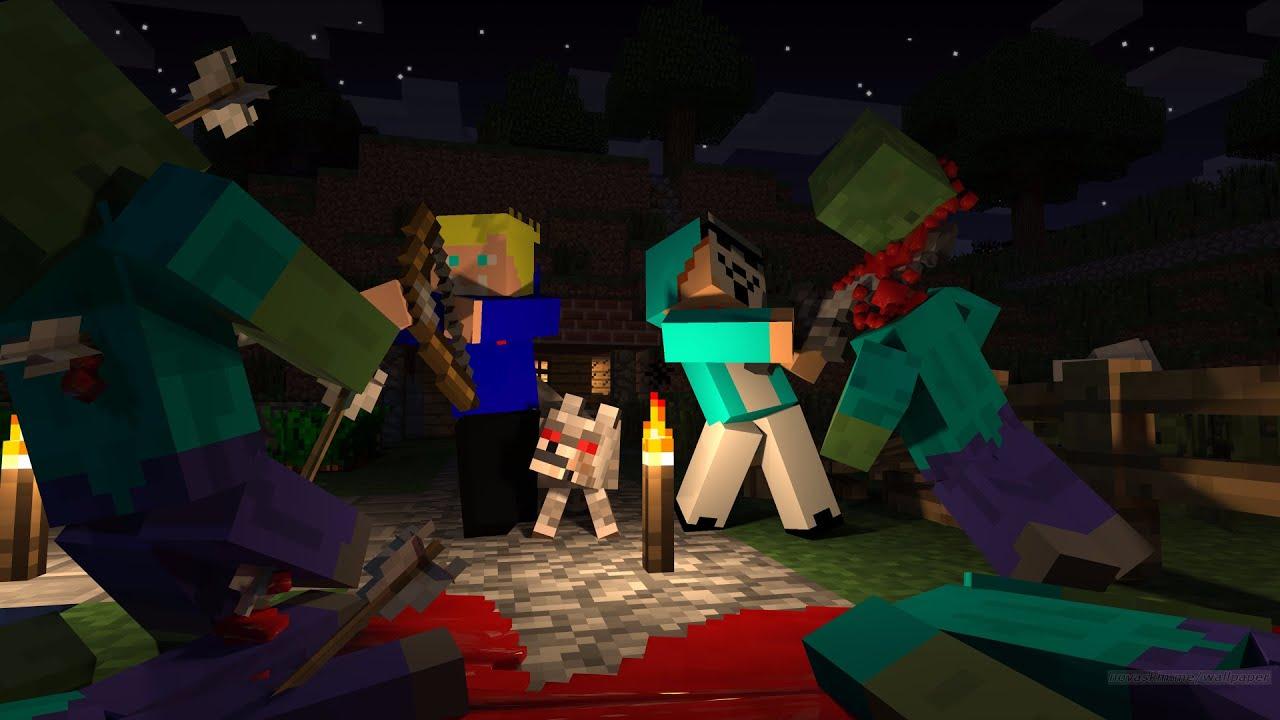 Tuto Fond Décran Minecraft Skin Personnalisé Youtube