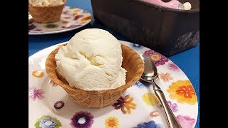 No Churn Vanilla Bean Ice Cream Recipe - A Great Creamy Cold Treat! - Episode #223
