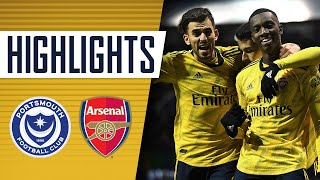 Highlights | Portsmouth 0-2 Arsenal | Emirates FA Cup fifth round