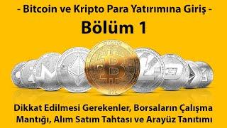 Kripto Para Piyasasına Giriş Bölüm #1: Dikkat Edilmesi ve Bilinmesi Gereken Teme
