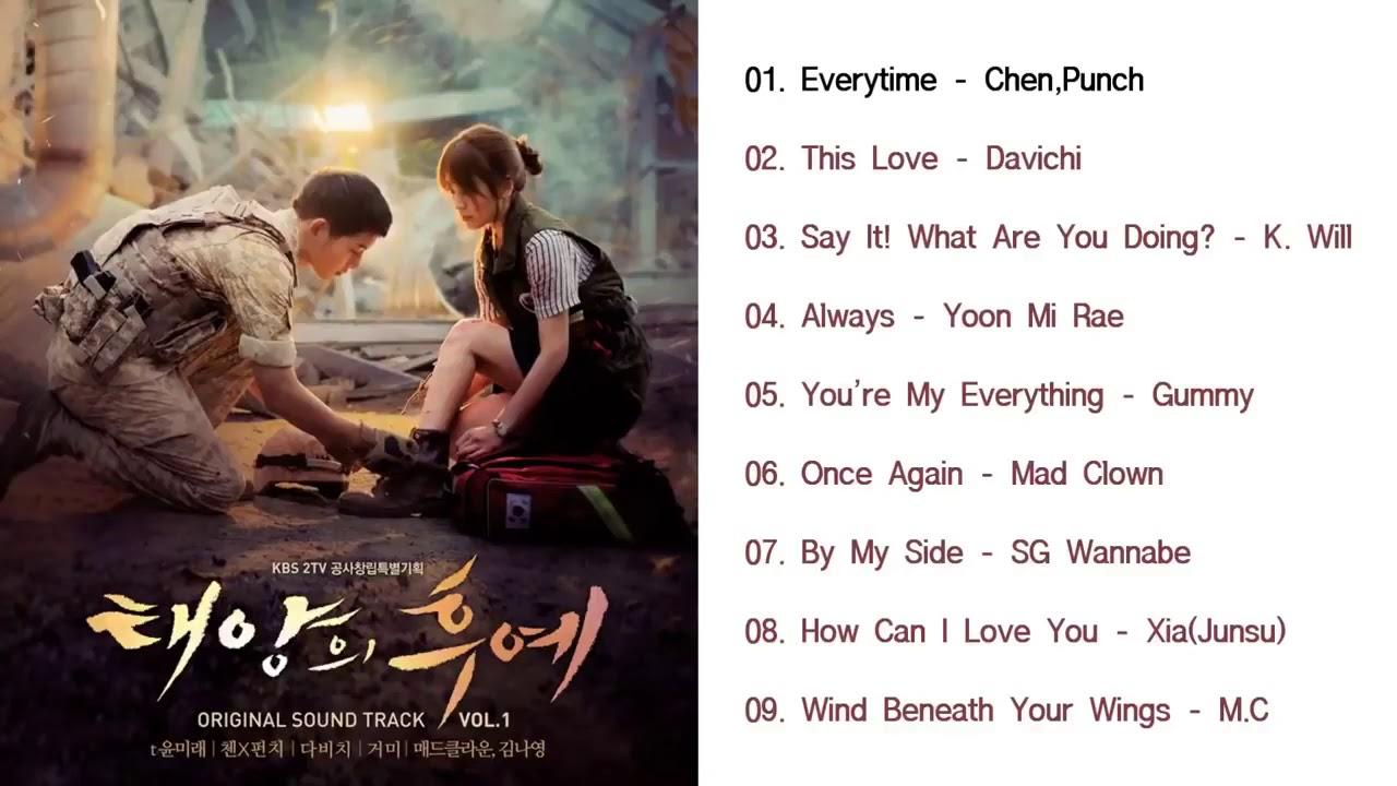 태양의후예OST- Descendants of The Sun Best Korean Drama OST Full Album