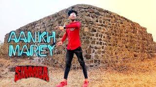 SIMMBA : Aankh Marey ! Dance cover 2018 ! Ranveer Shing ! neha kakkar ! oh ladki Aankh marey Dance