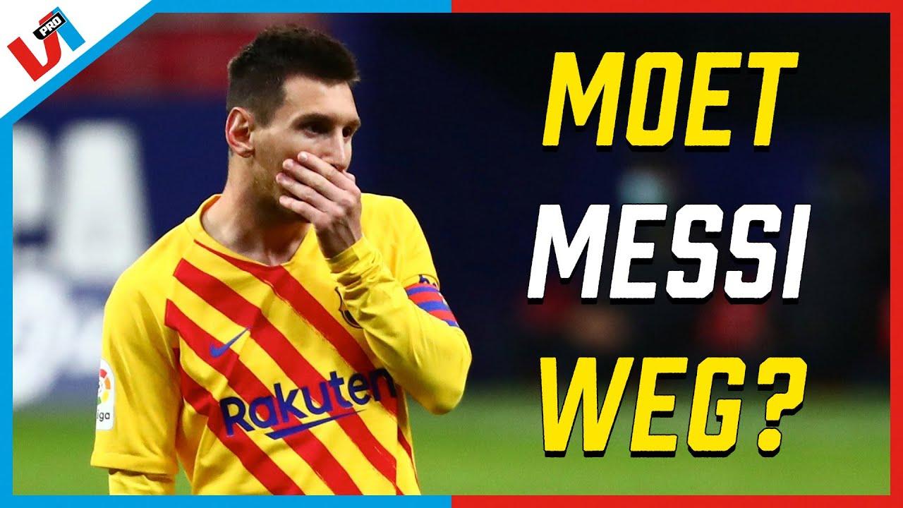 Moet Lionel Messi Weg Bij Barcelona?