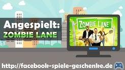 ZOMBIE LANE angespielt - von http://facebook-spiele-geschenke.de [Deutsch]