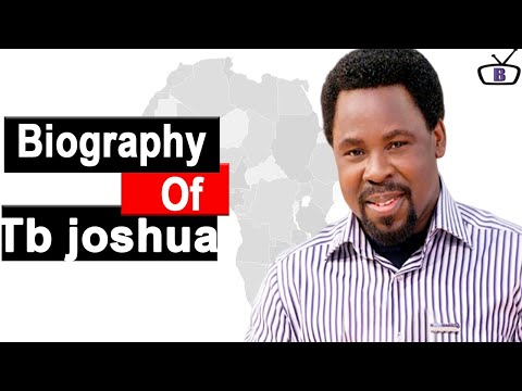 Biography of TB Joshua,Background,Net worth,Education,Wife,Children